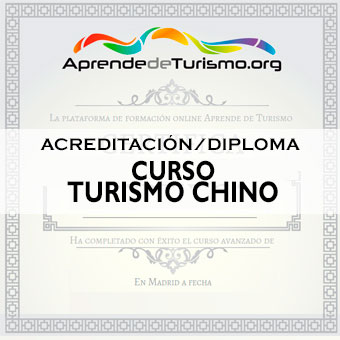 Course Image ACREDITACIÓN / DIPLOMA del Curso Turismo Chino