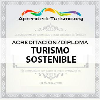 Course Image ACREDITACIÓN / DIPLOMA del Curso Turismo Sostenible
